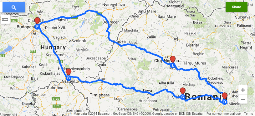 Romanian road trip If not now When